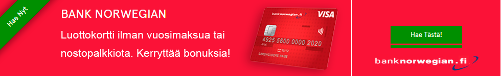 Norwegianin luottokortti