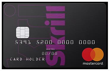 Skrill prepaid luottokortti