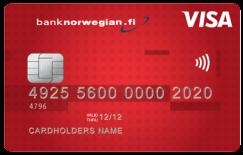 Norwegian Visa -luottokortti