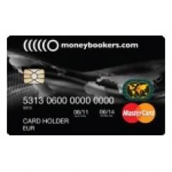 Moneybookers prepaid -luottokortti