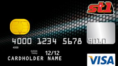 ST1 Visa – bensakortti ja luottokortti